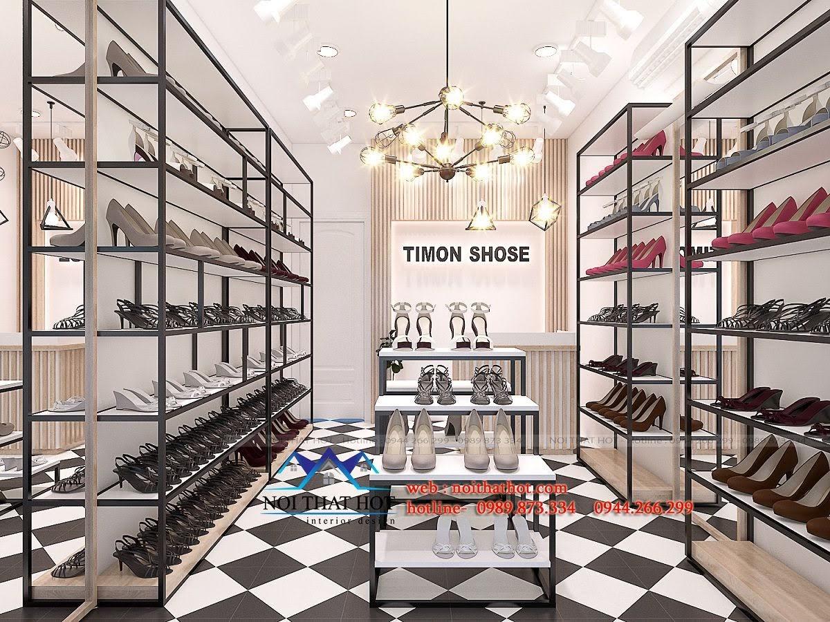 thiết kế shop giày dép timon 4