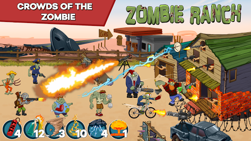 Zombie Ranch - Battle with the zombie 2.0.12 {cheat|hack|gameplay|apk mod|resources generator} 3