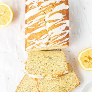 Lemon Poppy Seed Bread.