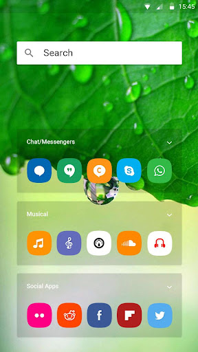 Launcher Theme For Lyf F1S  screenshots 3