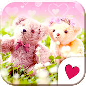 Cute wallpaper★Love Bears