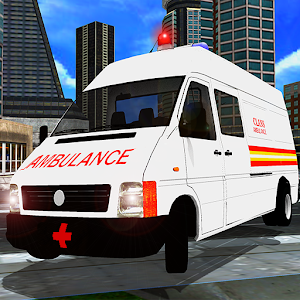 Ambulance Rescue 3D Simulator for PC and MAC