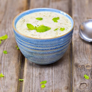 Broccoli White Cheddar Soup.