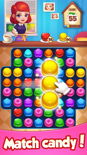 Candy House Fever - 2020 free match game 1.0.5 screenshots 2