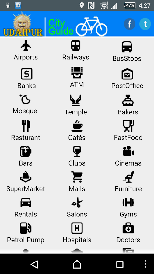 Udaipur City Guide- screenshot