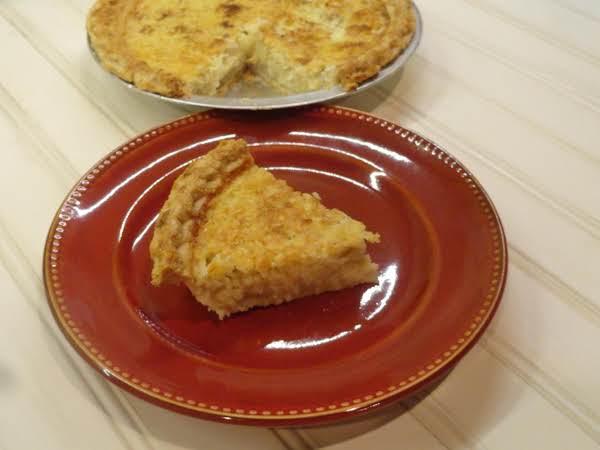 Lizzie's Coconut Custard Pie Recipe