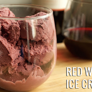 Red Wine Ice Cream
