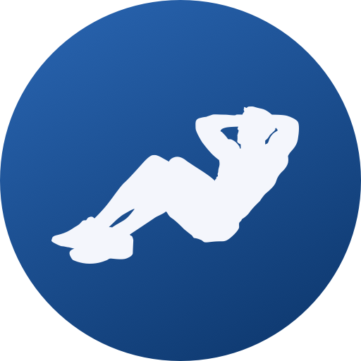 Abs, Core & Back Workout Challenge icon