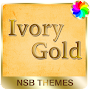 Ivory Gold - Theme for Xperia APK icon
