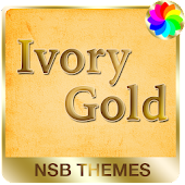 Ivory Gold - Theme for Xperia