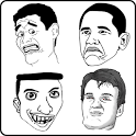 Rage Face . Troll Face icon
