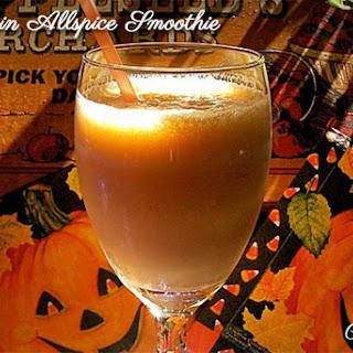 Pumpkin Allspice Smoothie.