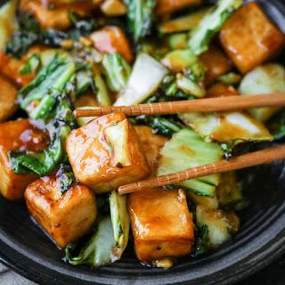 Sichuan Bok Choy Tofu Stir-Fry Recipe