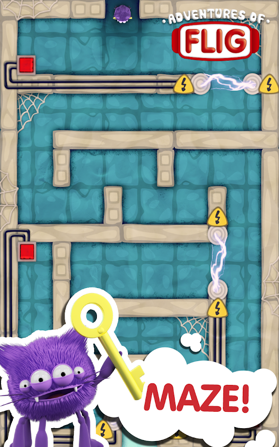 Adventures of Flig - Airhockey- screenshot
