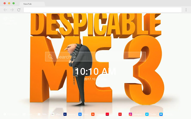 Despicable Me Movies New Tabs HD Themes