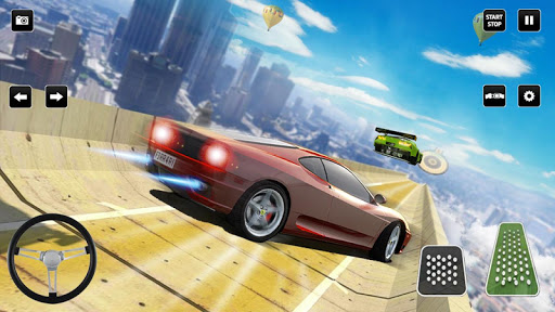 Ramp Cars stunt racing 2020: 3D Mega stunts Games apklade screenshots 1
