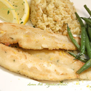 Lemon Dill Flounder Fillets!.