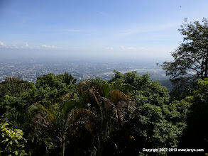Photo: View of Chiang Mai from Wat Phrathat Doi Suthep