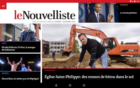 Le Nouvelliste screenshot 6