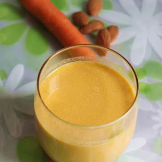 Almond Carrot Smoothie - Almond Smoothie