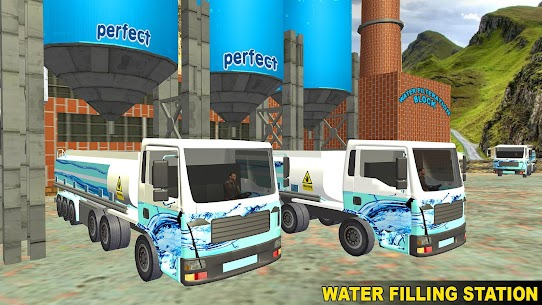 Water Tanker Offroad Transport Truck Driving Game 1