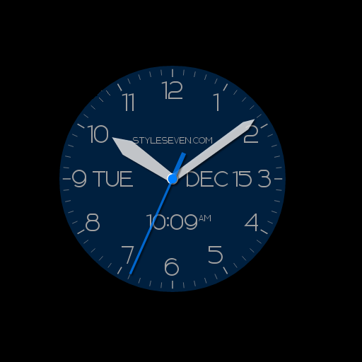 Modern Analog Clock AW-7 工具 App LOGO-APP試玩