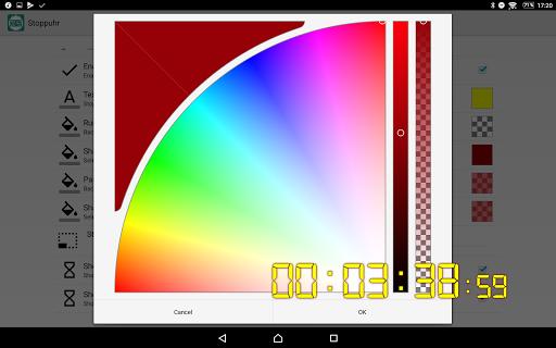 Floating Stopwatch, free multitasking timer 3.2.7 screenshots 6