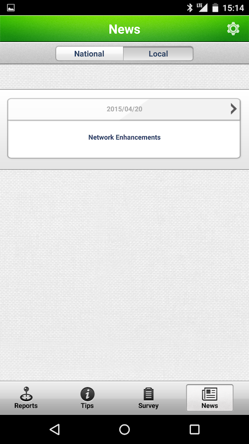 TELUS Network Experience- screenshot