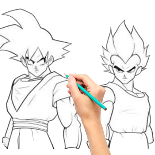 Draw Goku Super Saiyan - Steps by Steps file APK for Gaming PC/PS3/PS4 Smart TV