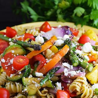 Grilled Summer Vegetable Pasta Salad Recipe