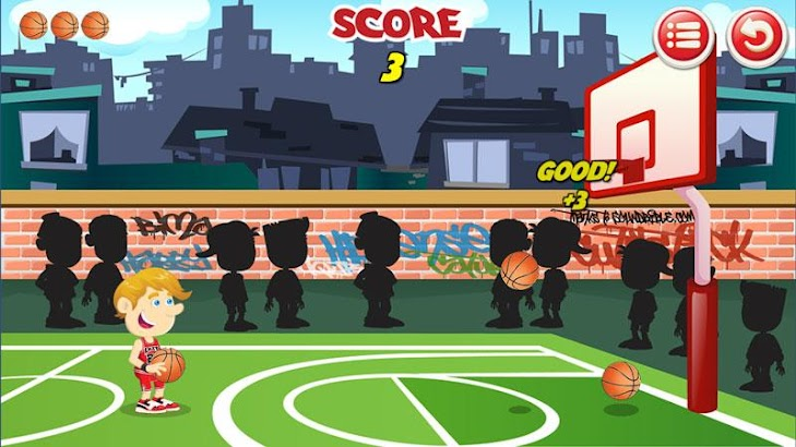 Lazy Basketball screenshot