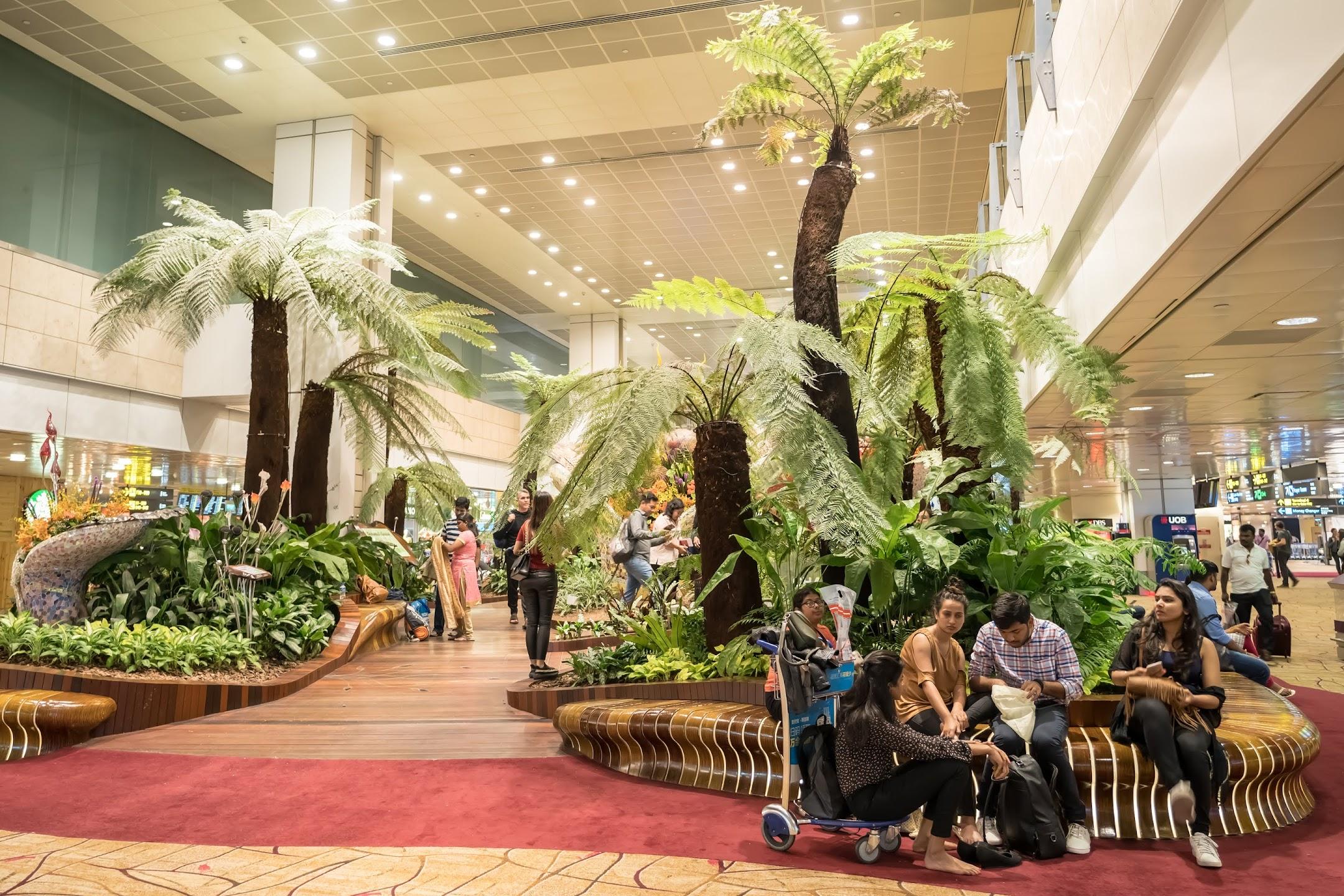 シンガポール チャンギ国際空港2