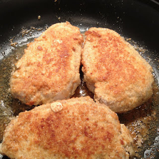 Parmesan-Almond Breaded Pork Chops Recipe