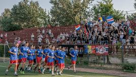 Los jugadores rumano en plena pretemporada.