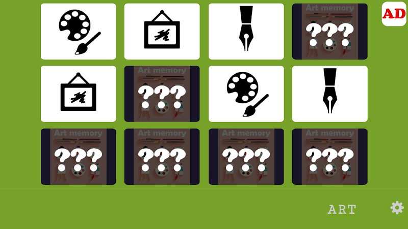 Скриншот Memory Game - Art