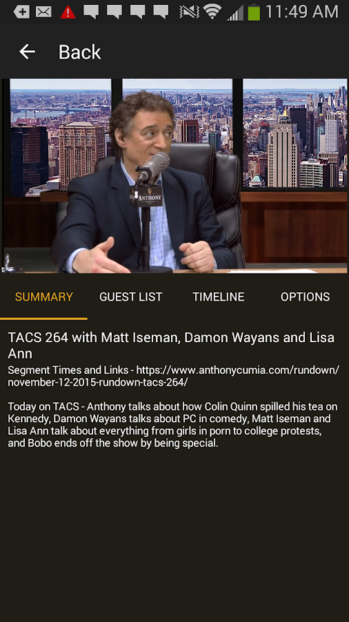 The Anthony Cumia Show- screenshot