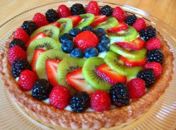 Fruits And Berries Tart Recipe