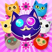 Candy Cat puzzle game