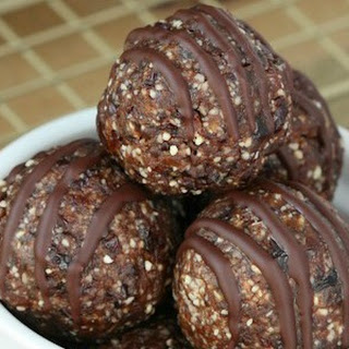 Chocolate Covered Cherry Bites.
