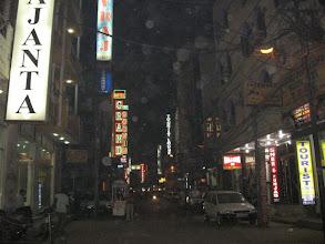 Photo: noční Dillí