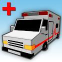 City Ambulance 3D icon