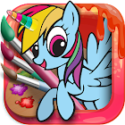 Unicorn Coloring Pages – Pony Coloring Book icon