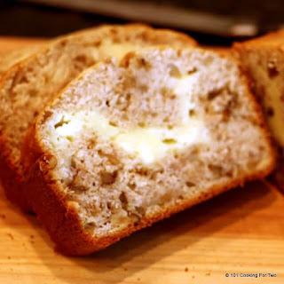 Cream Cheese Filled Banana Bread.