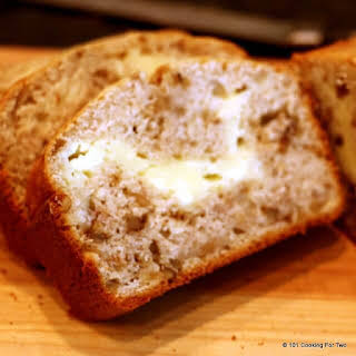 Cream Cheese Filled Banana Bread.