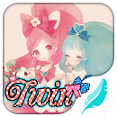 Twin girls for Hitap Keyboard v 5.0