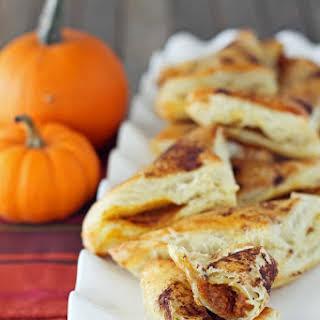 Pumpkin Pie Pastry Pockets.