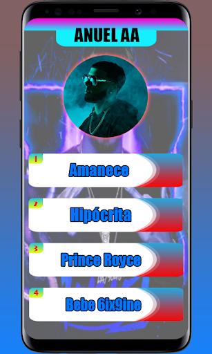 New piano 🎹   Anuel AA tiles screenshot 1