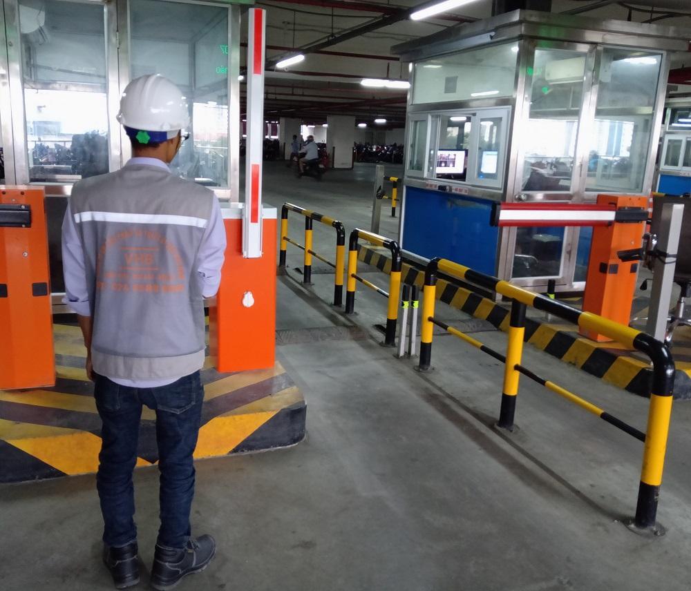 Ứng dụng barie tự động tại bãi giữ xe