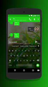 Transparent Green - CM12 Theme v3.1