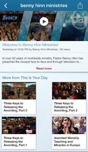Download Benny Hinn Ministries Google Play softwares